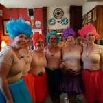 Trolls 90s Fancy Dress at 40th Birthday Party