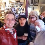 Tyler Durden, Wayne, Garth and Altern-8 at 40th Birthday Party