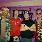 Garth, Beckham, Wayne and Tyler at 40th Birthday Party