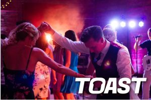 Getting into the groove at Thoresby Courtyard Wedding